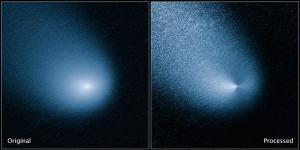 Hubble Image of Comet Siding Spring (Credit:NASA)